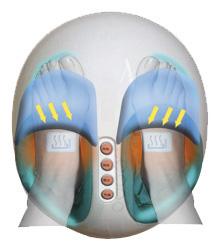 Masajeador de pies y Presoterapia Feet Care YM301 Masaje