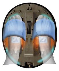 Masajeador de pies y Presoterapia Feet Care YM301 Presoterapia