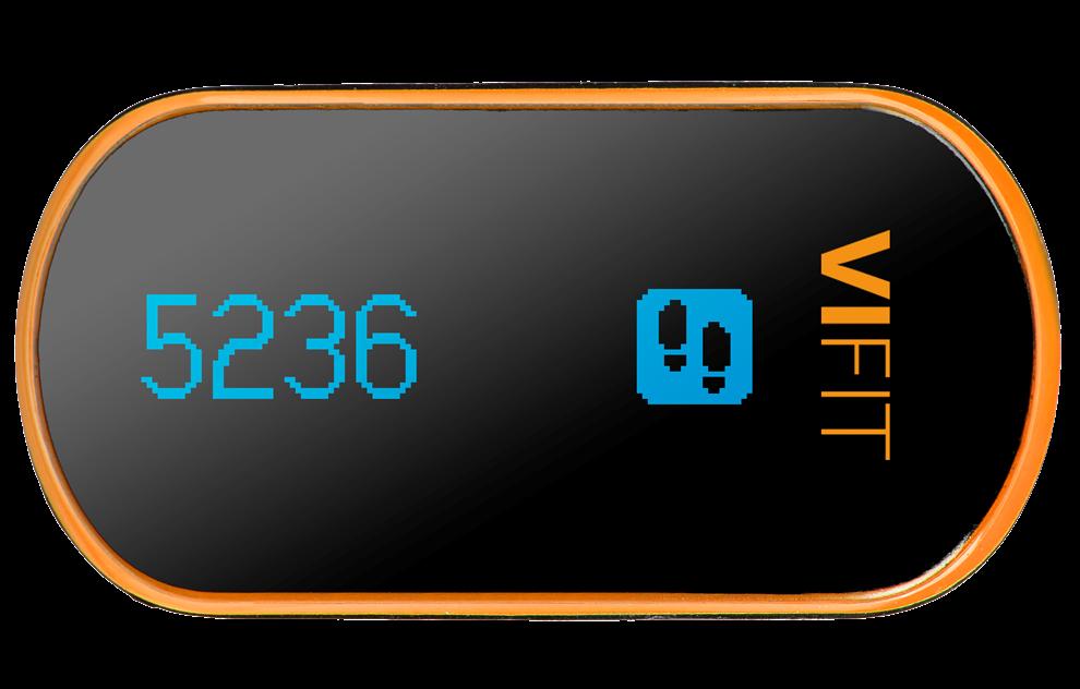 Monitor de actividad ViFit con Bluetooth