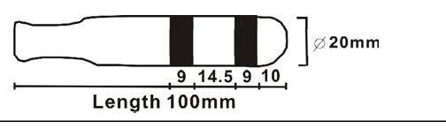 Sonda vaginal PR-04A